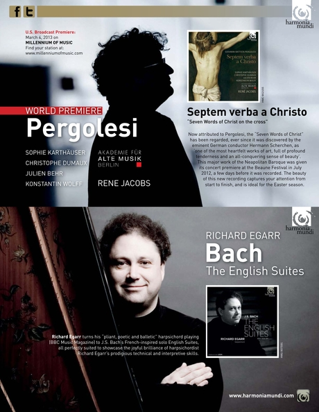 Early Music America Spring 2013