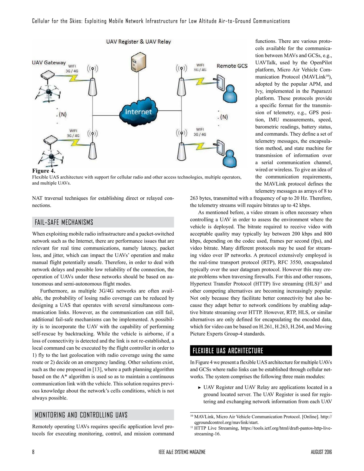 Aerospace and Electronic Systems Magazine August 2016