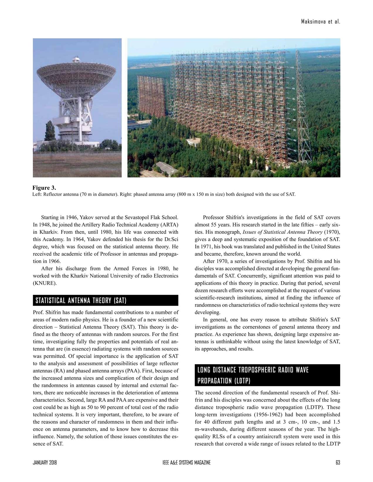 Aerospace and Electronic Systems Magazine January 2018