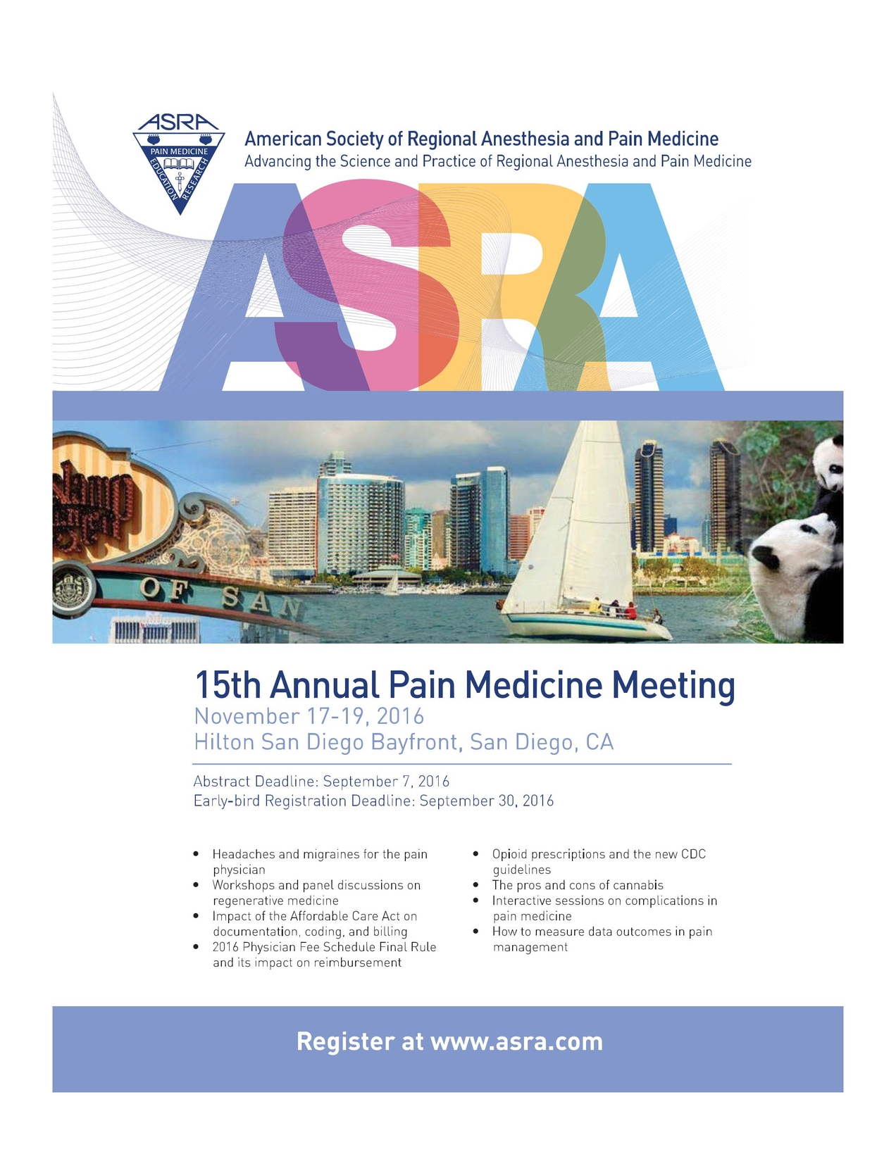 American Society of Regional Anesthesia and Pain Medicine