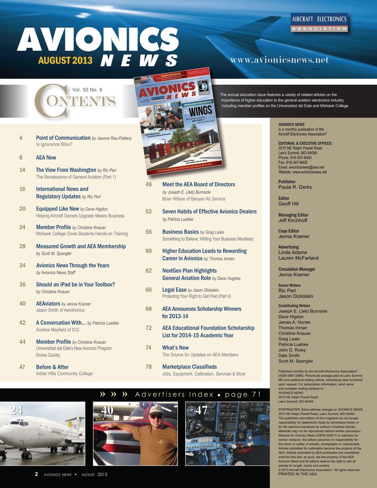 Avionics News August 2013