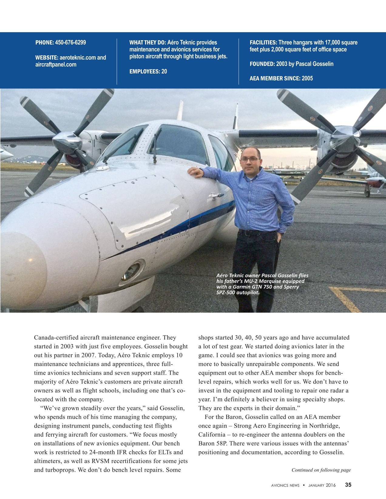 Avionics News January 2016