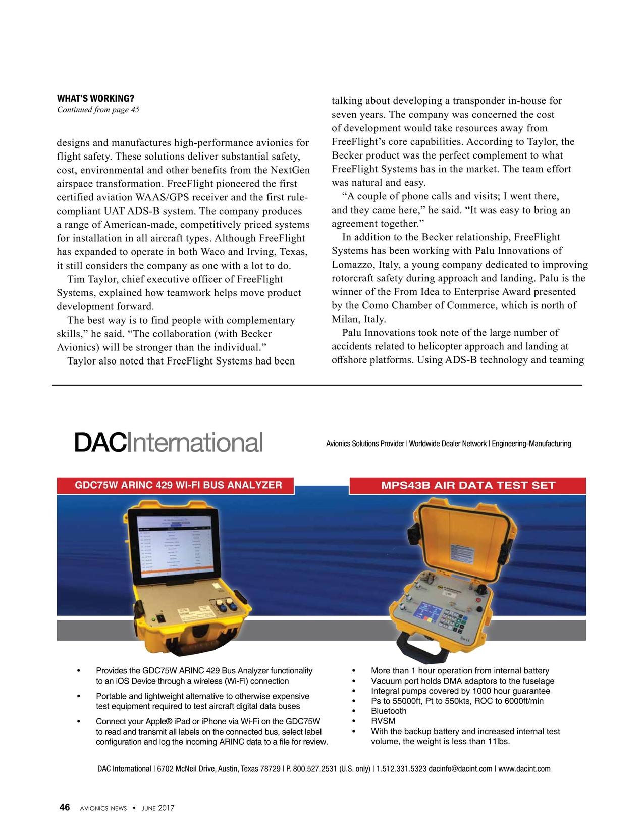 Avionics News June 2017