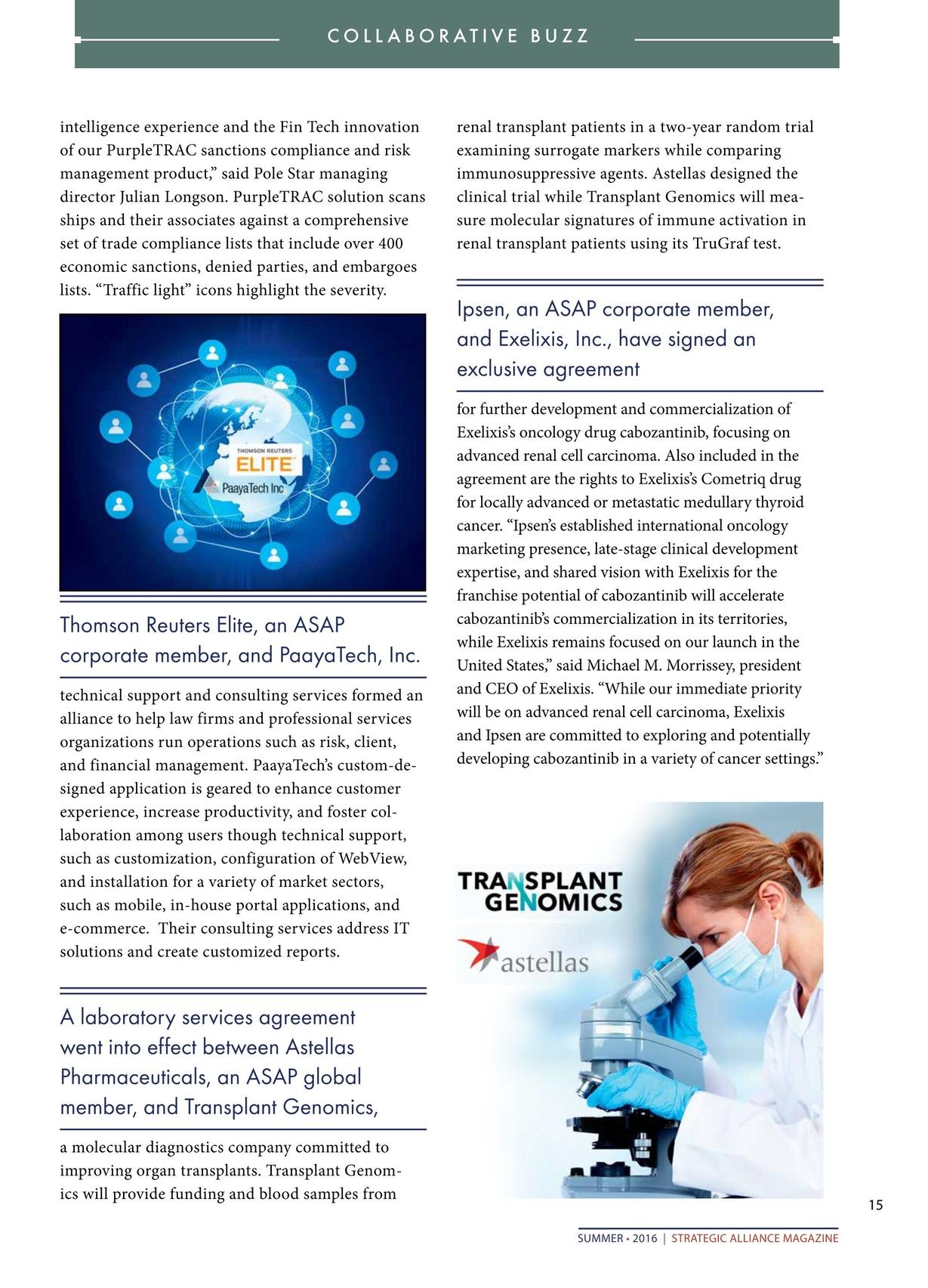 Strategic Alliance Magazine Q2 2016