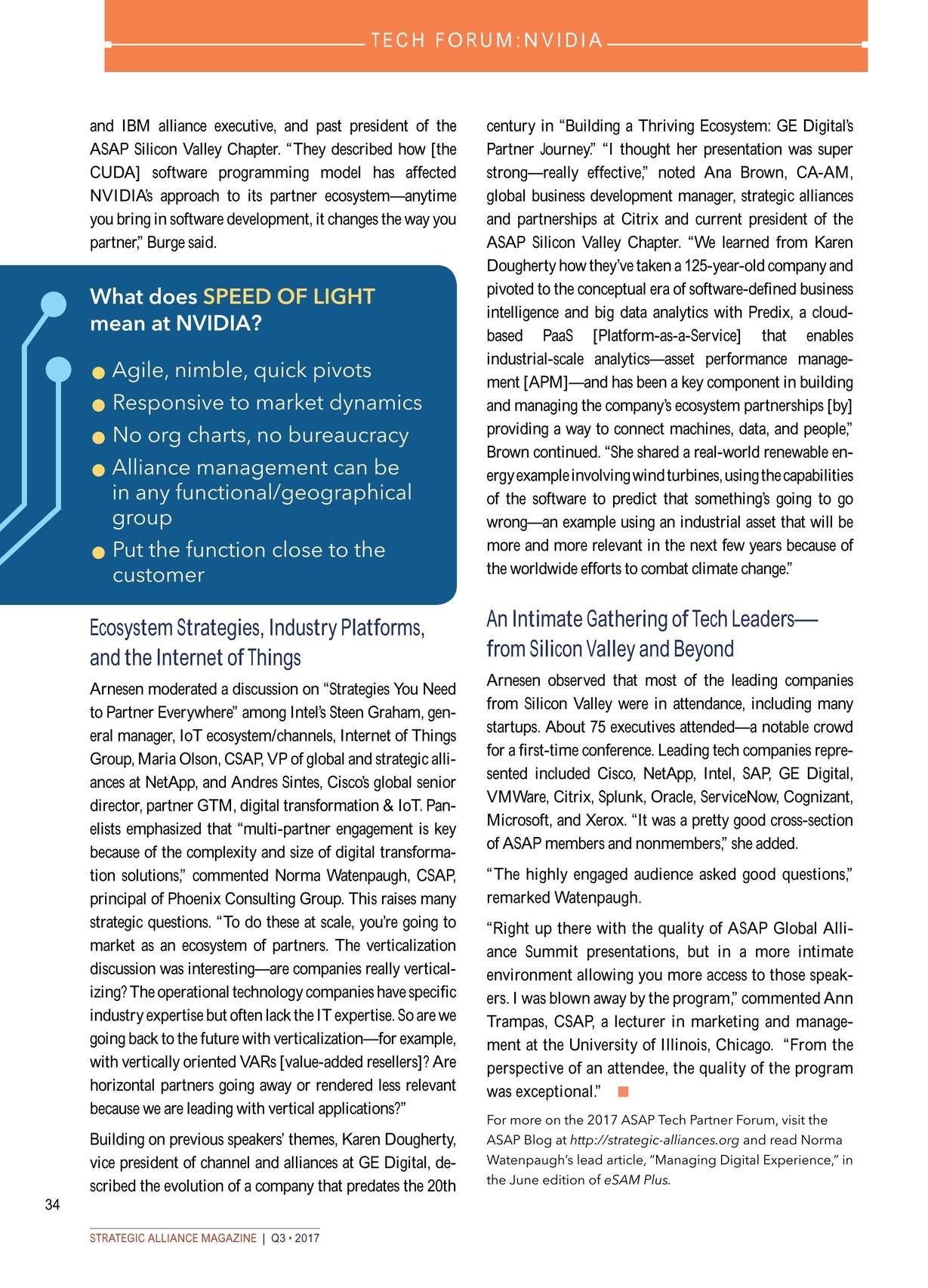Strategic Alliance Magazine Q3 2017