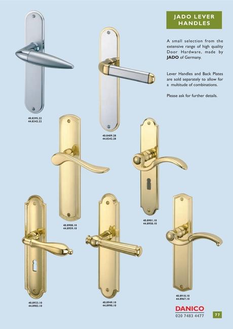 Attirant Catalogue Of Architectural Ironmongery