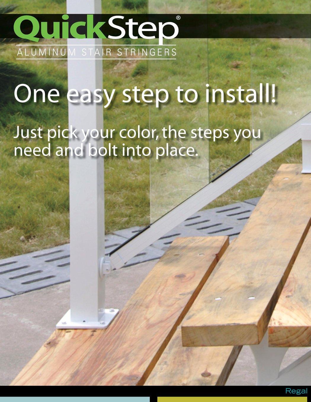 QuickStep Aluminum Stair Stringers