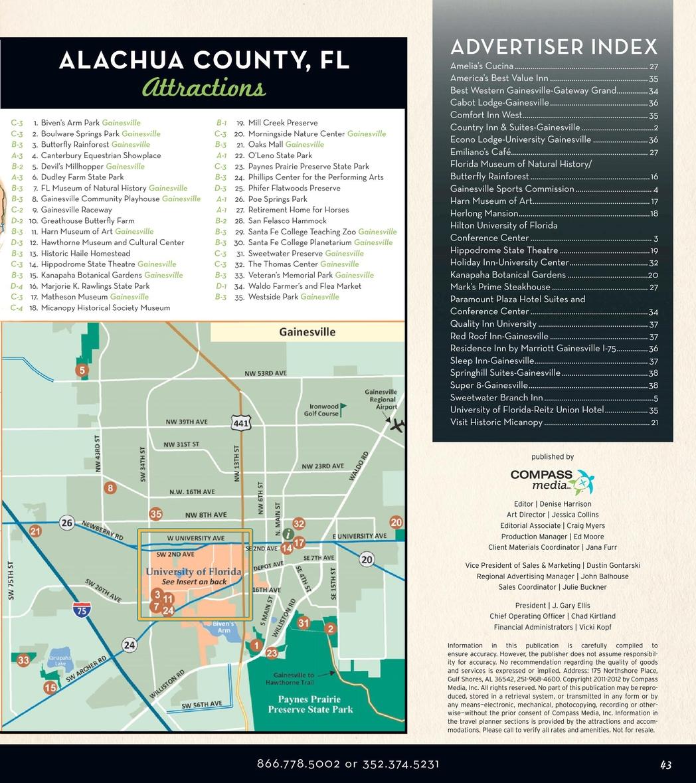 Florida Museum Of Natural History Map