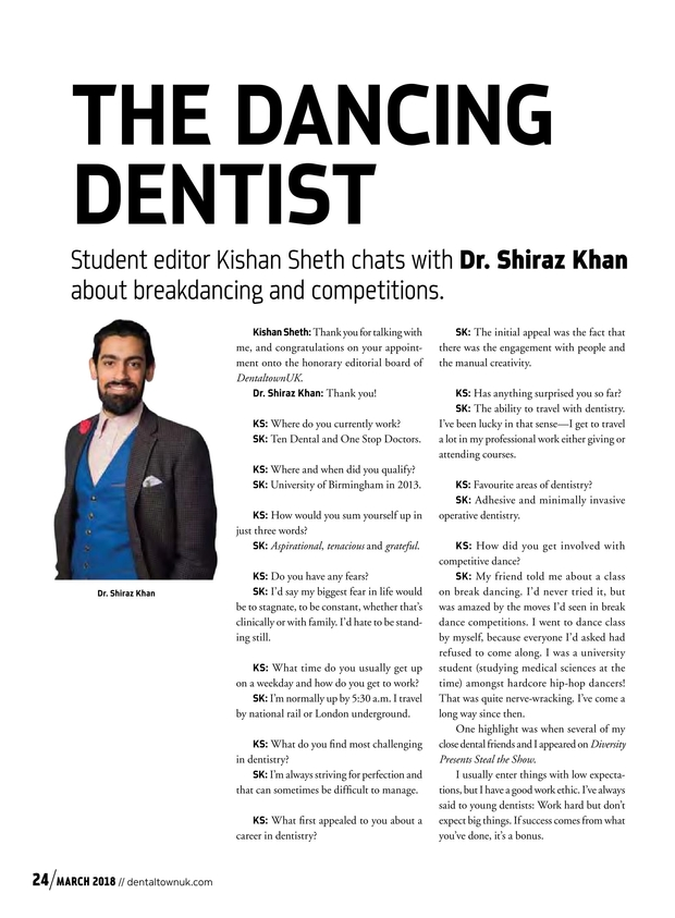 DentaltownUK March 2018