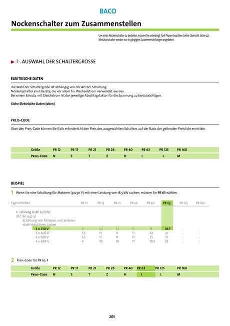 BACO - Katalog 2013-2015 [202 - 203]