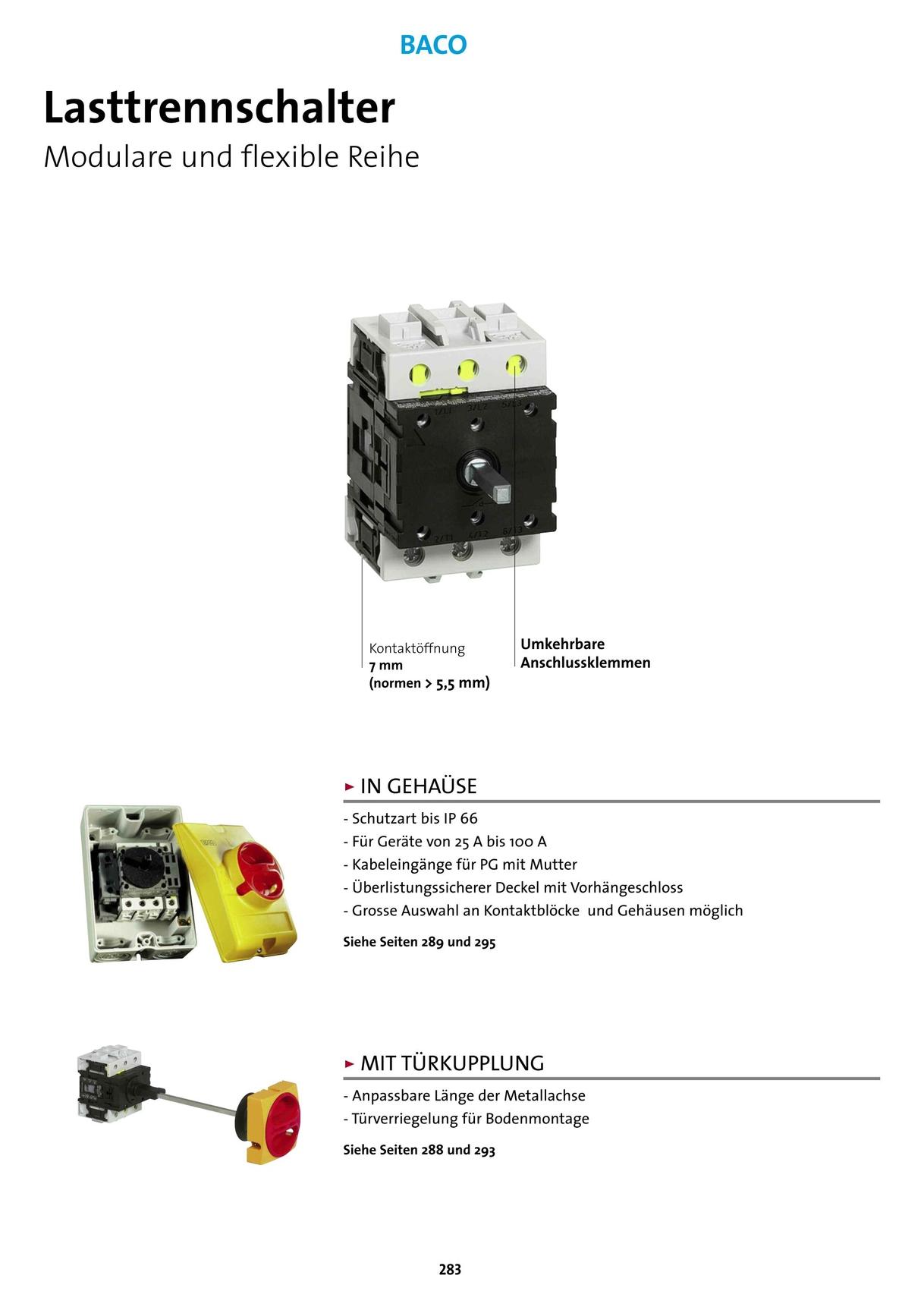 BACO - Katalog 2013-2015 [282 - 283]