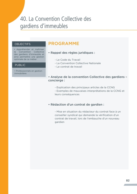 Snpi Vhs Catalogue Des Formations