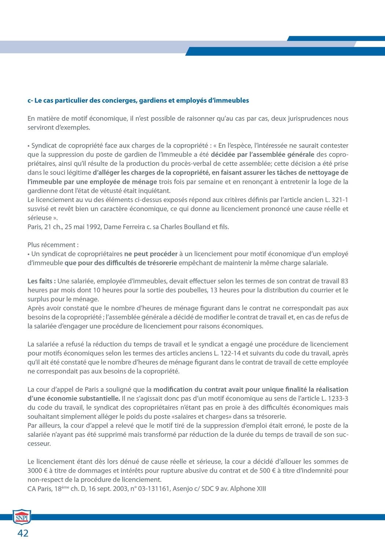 Snpi Dossier Demission Licenciement Et Rupture Conventionnelle