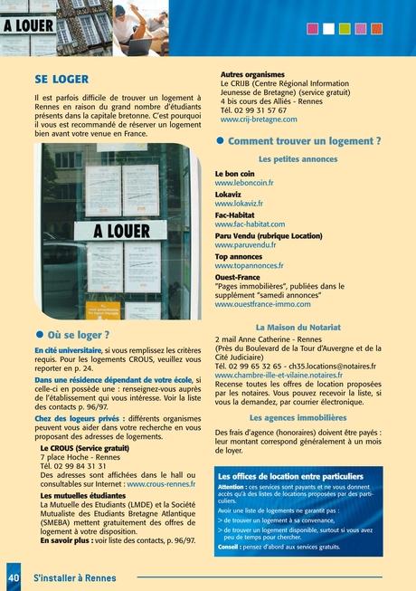Guide De Létudiant étranger à Rennes 2013
