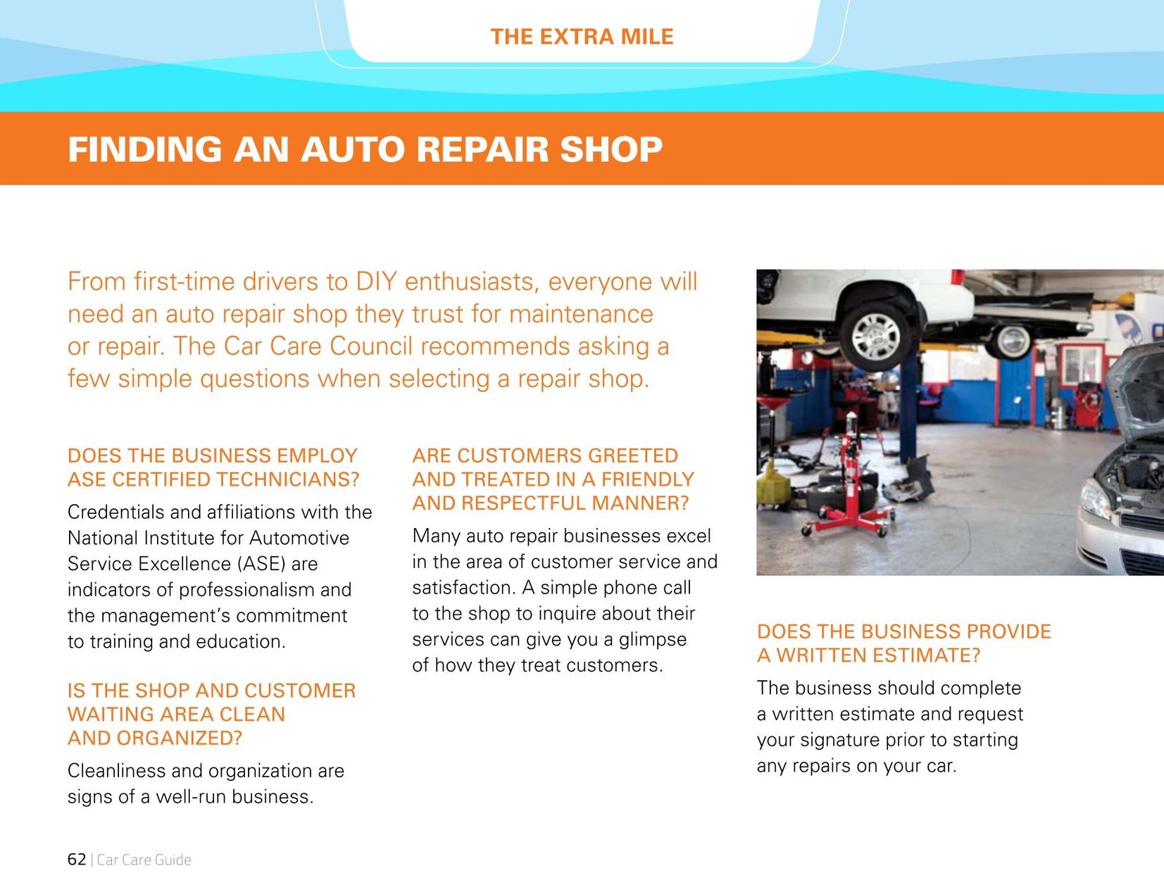 Car Care Guide 2014