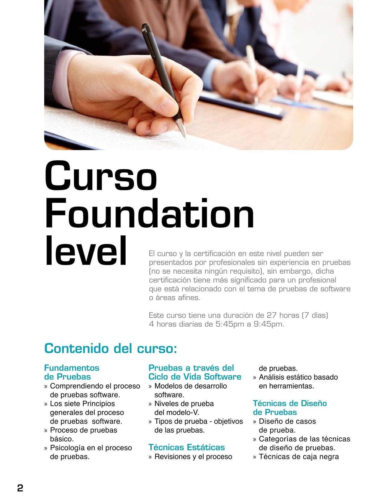 CHOUCAIR - Cursos para la Certificación ISTQB