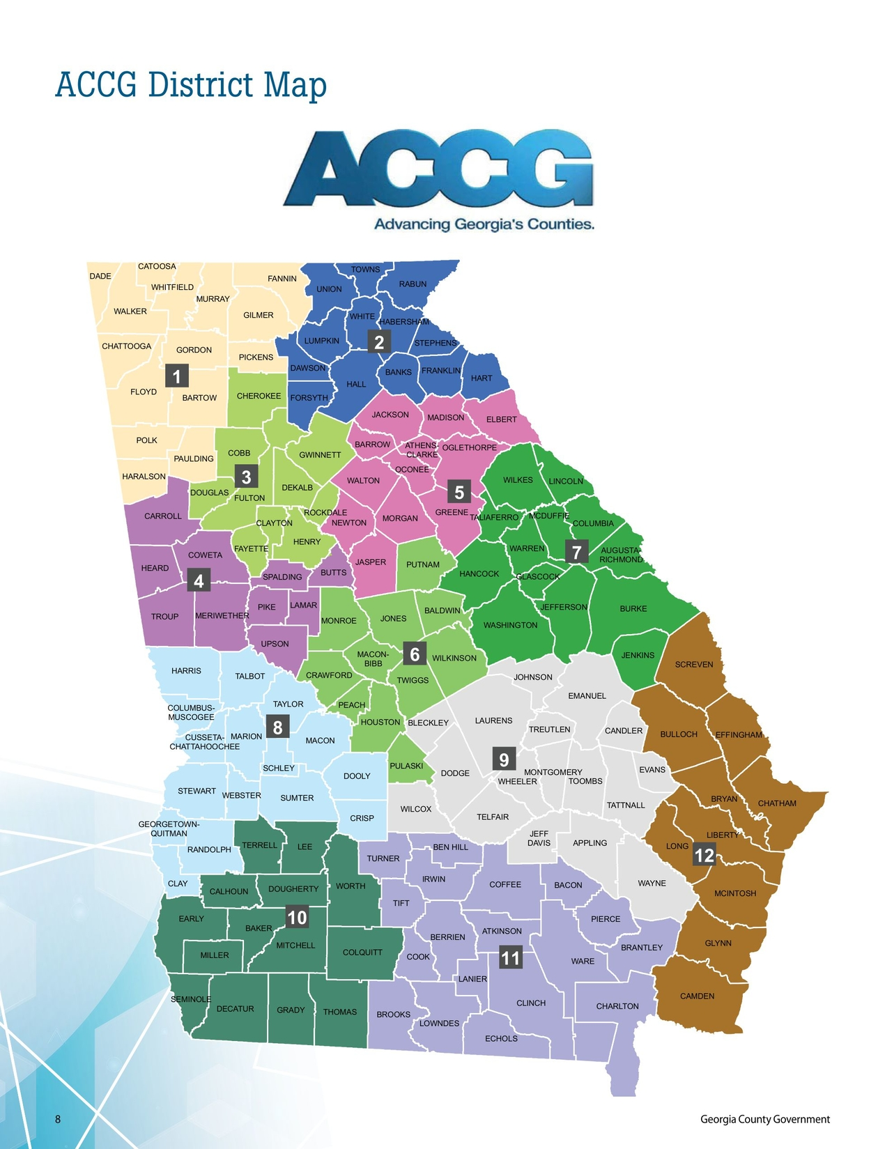Georgia County Government 2018 Member Services Guide