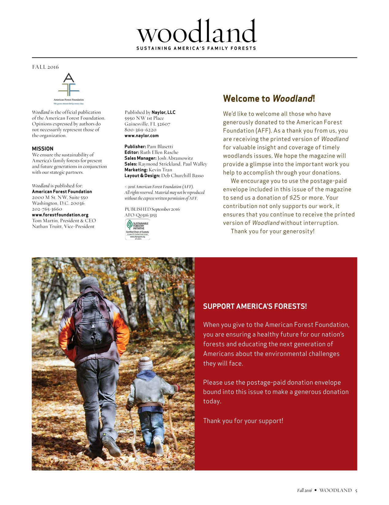 Woodland - Fall 2016