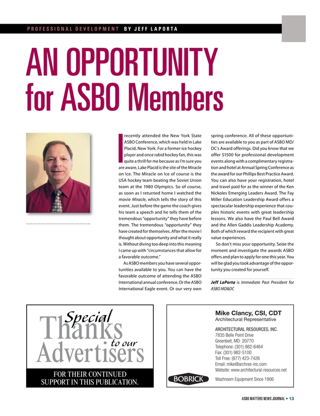 What Is An Asbo >> Asbo Matters News Journal Fall Winter 2017