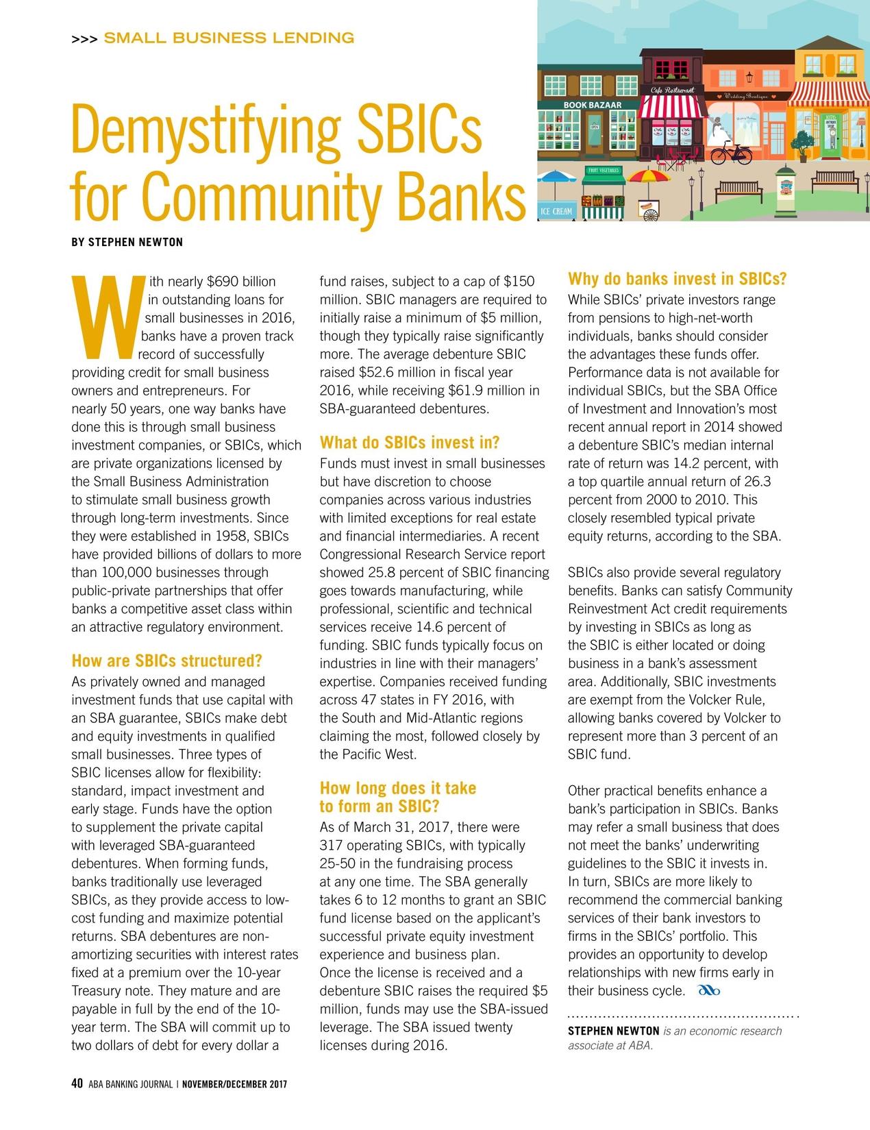 ABA Banking Journal - November/December 2017