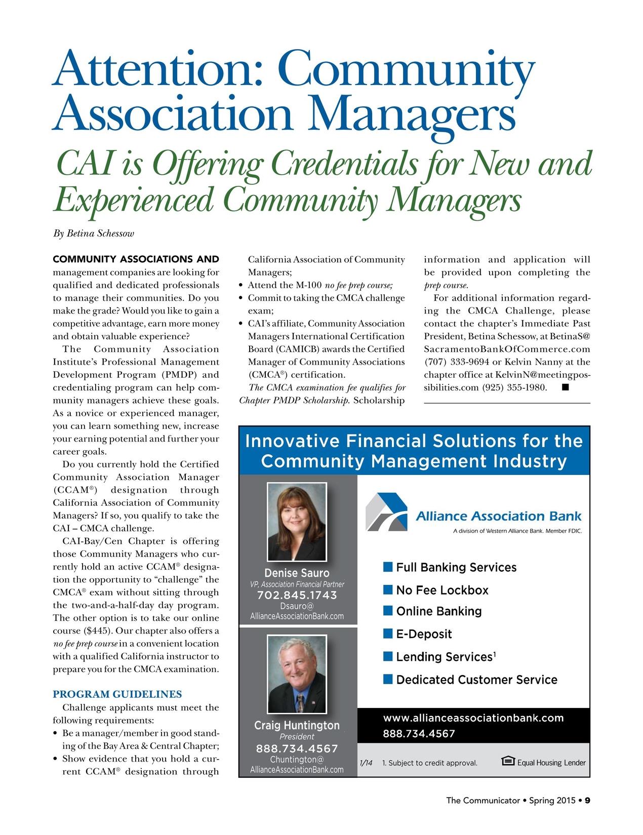 The Communicator Volume 8 Issue 2