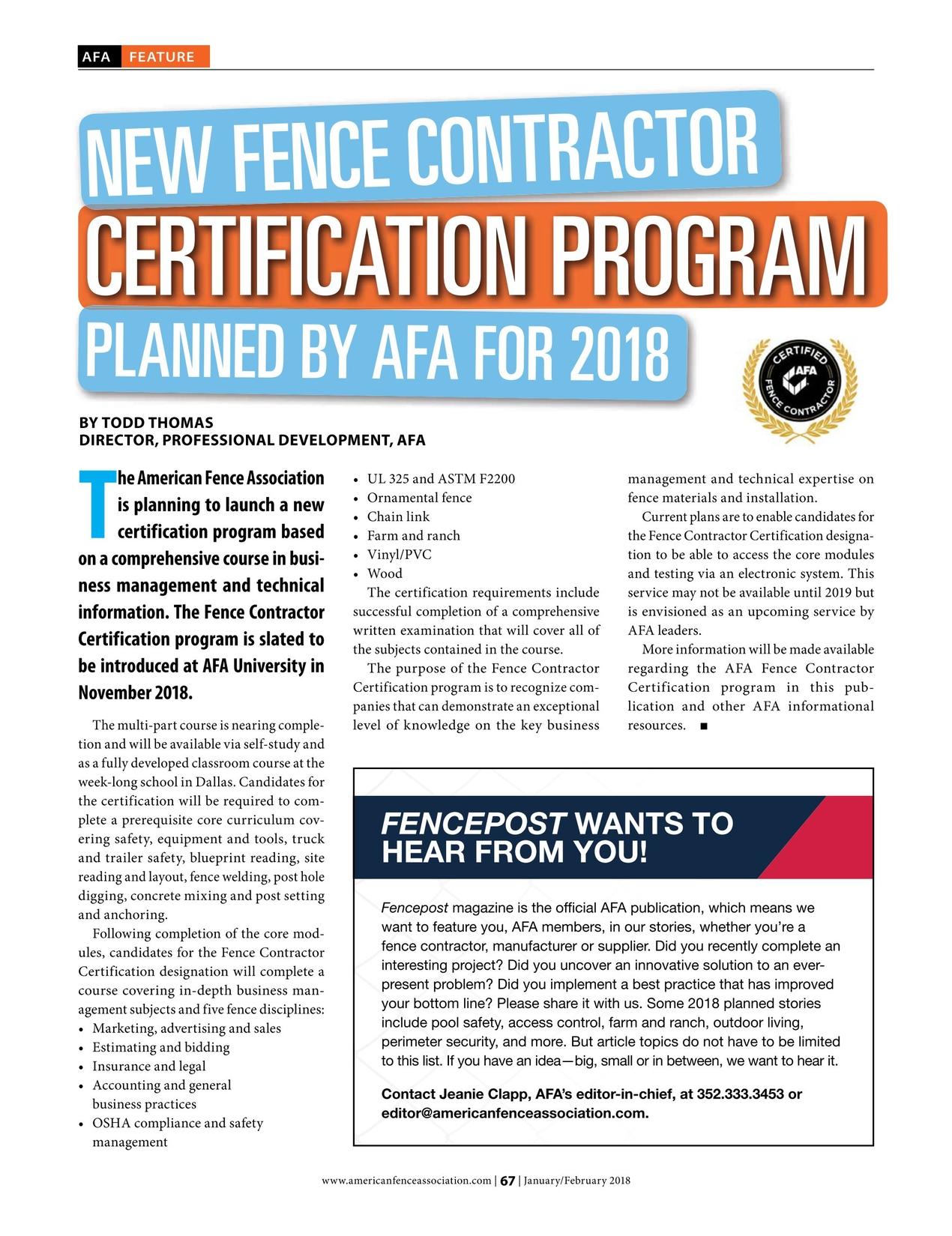 Wunderbar Afa Certification Fotos - zertifizierungsstelle ...