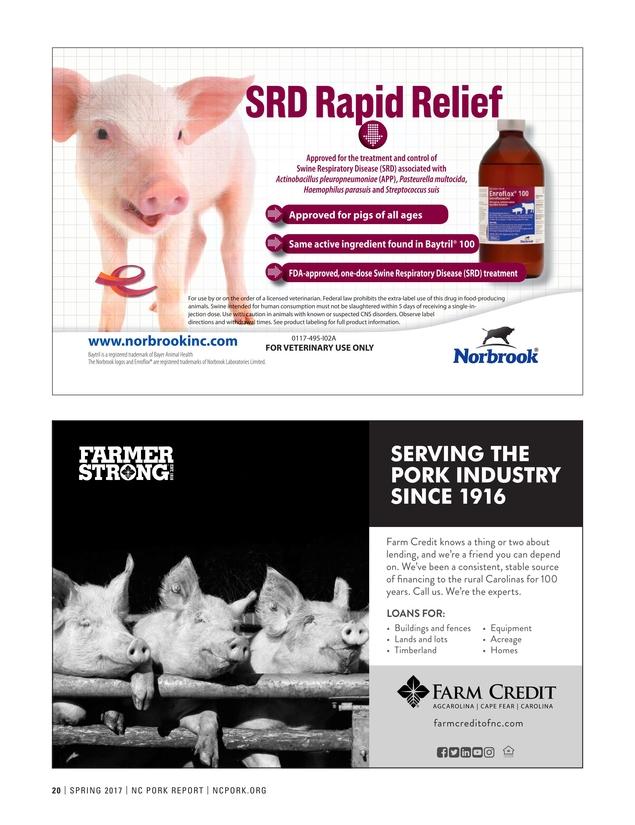 NC Pork Report - Spring 2017