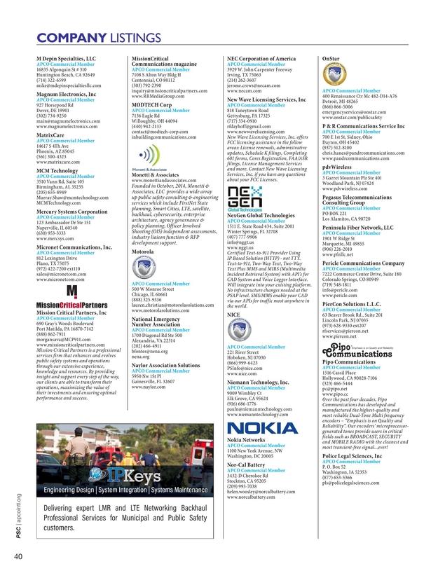 PSC - September/October 2017 Issue