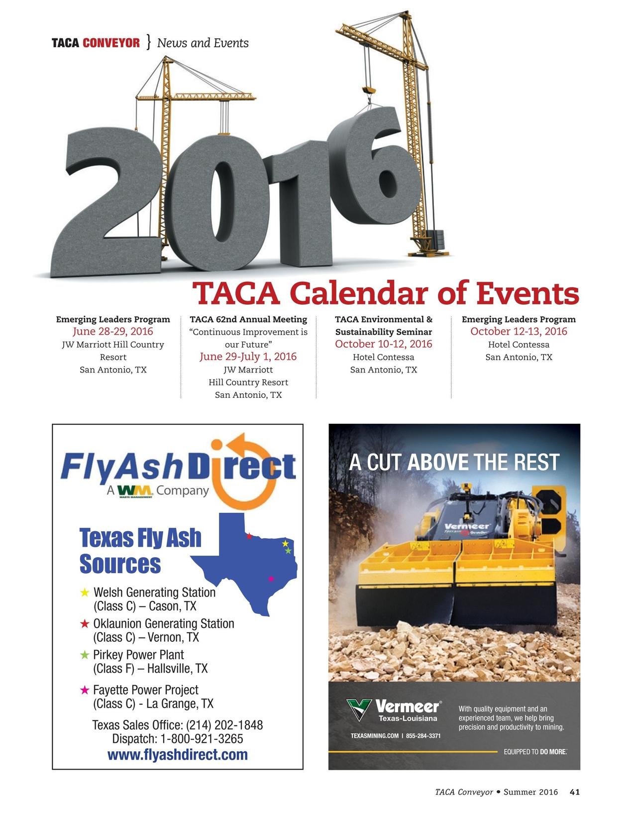 TACA Conveyor - Summer 2016