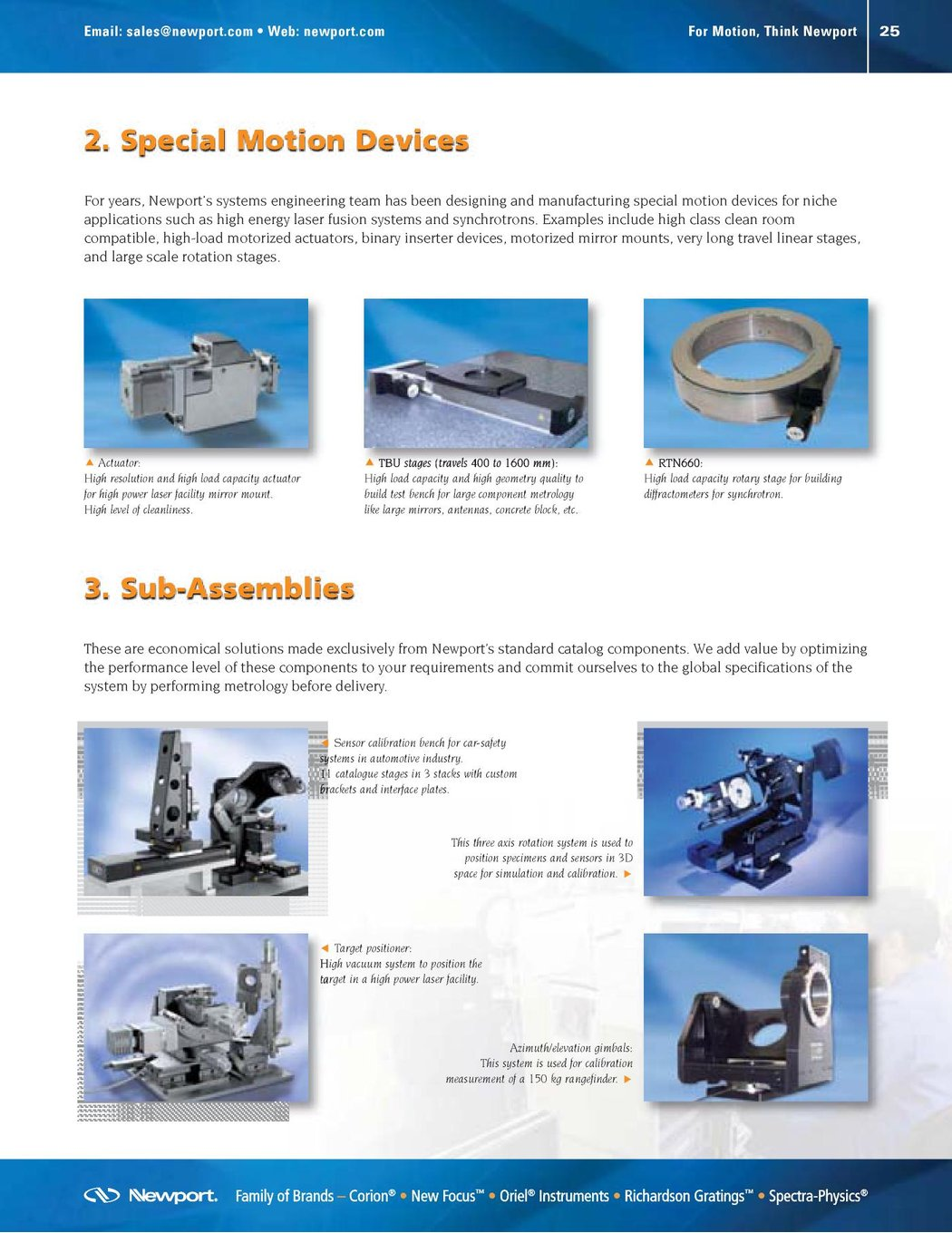 MOTION CONTROL - Our Solutions at Your Service