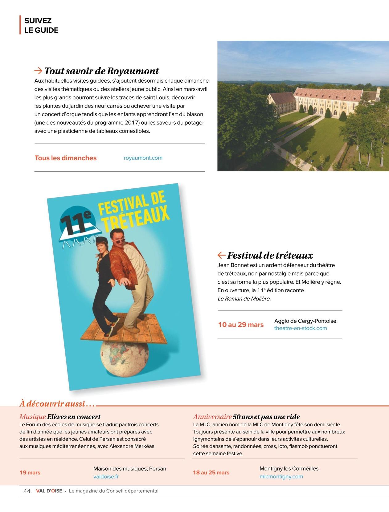 Val d\'Oise, le magazine du Conseil départemental - N°10 - Mars/Avril ...
