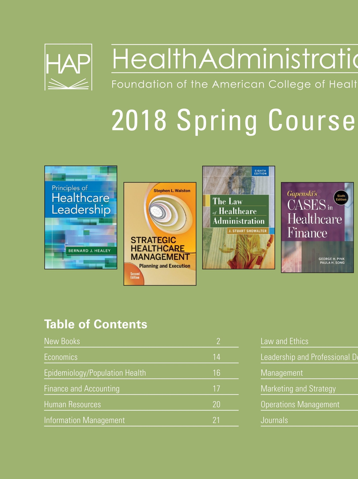 Health administration press management catalog spring 2018 cover1 health administration press management catalog spring 2018 cover1 cover2 fandeluxe Choice Image