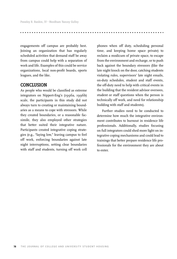 the journal of college and university student housing volume 44 no 2