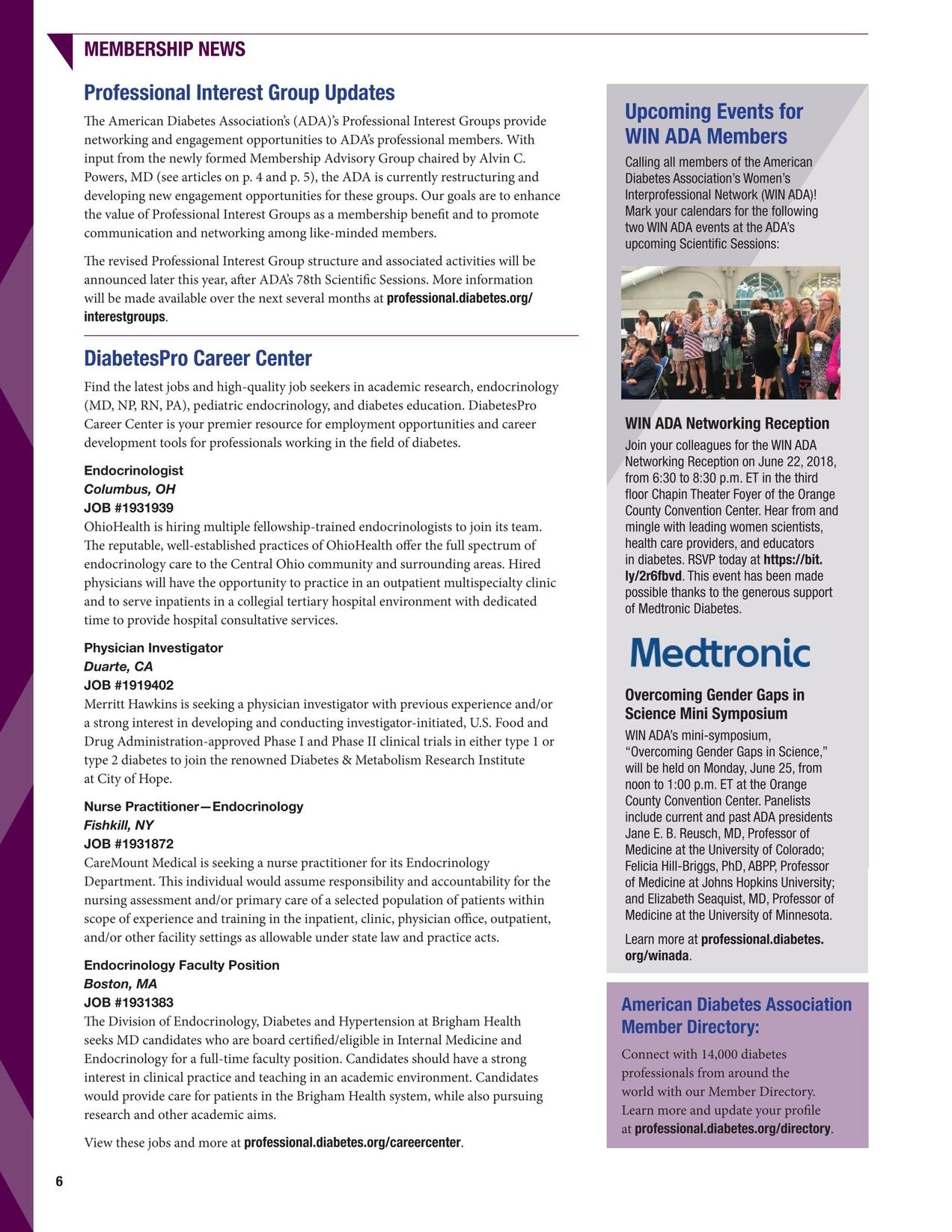 Diabetes Pro Quarterly - Spring 2018