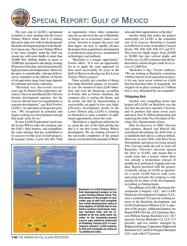 American Oil and Gas Reporter - April 2018