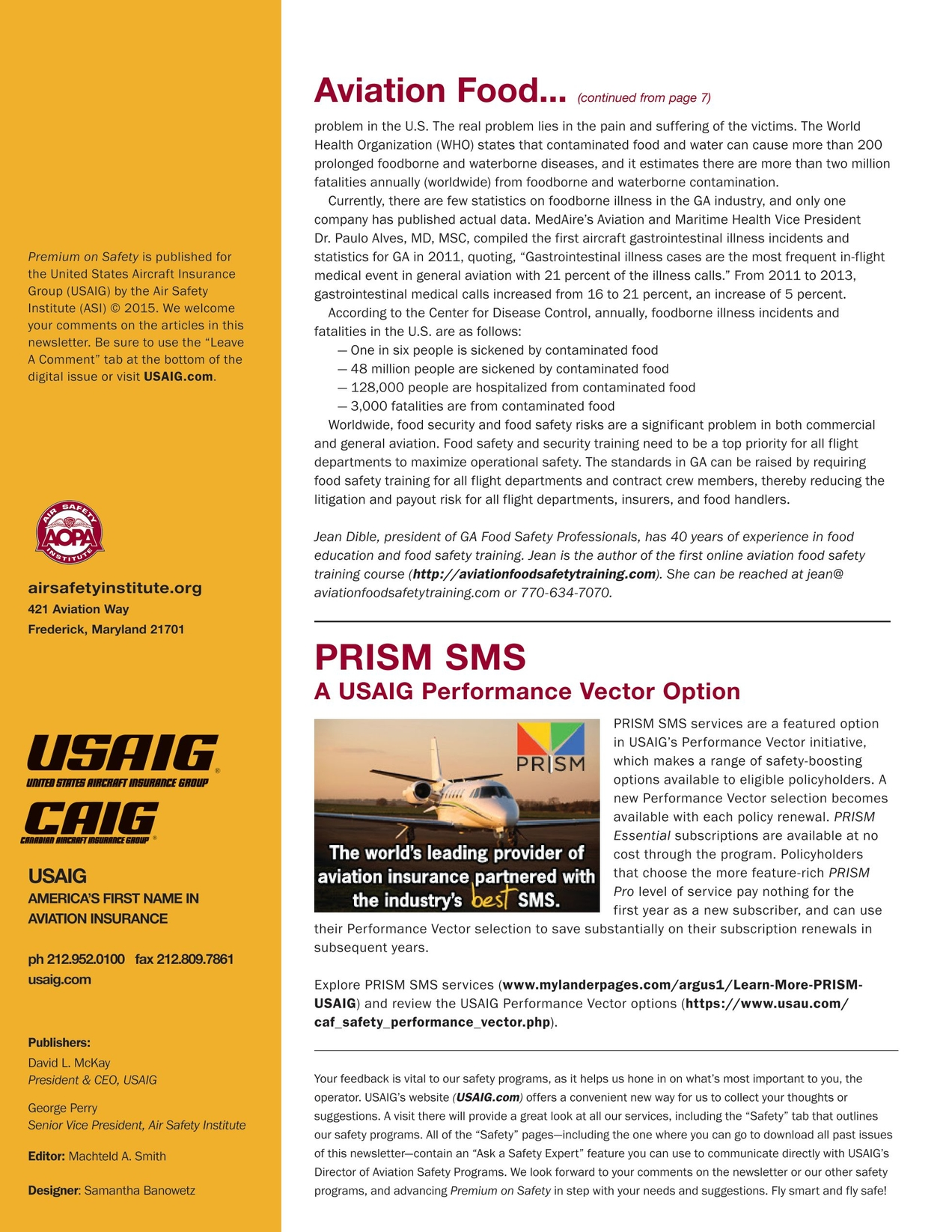 Premium On Safety - Issue 17, 2015