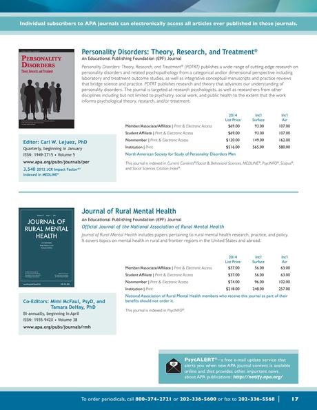 2014 journals program