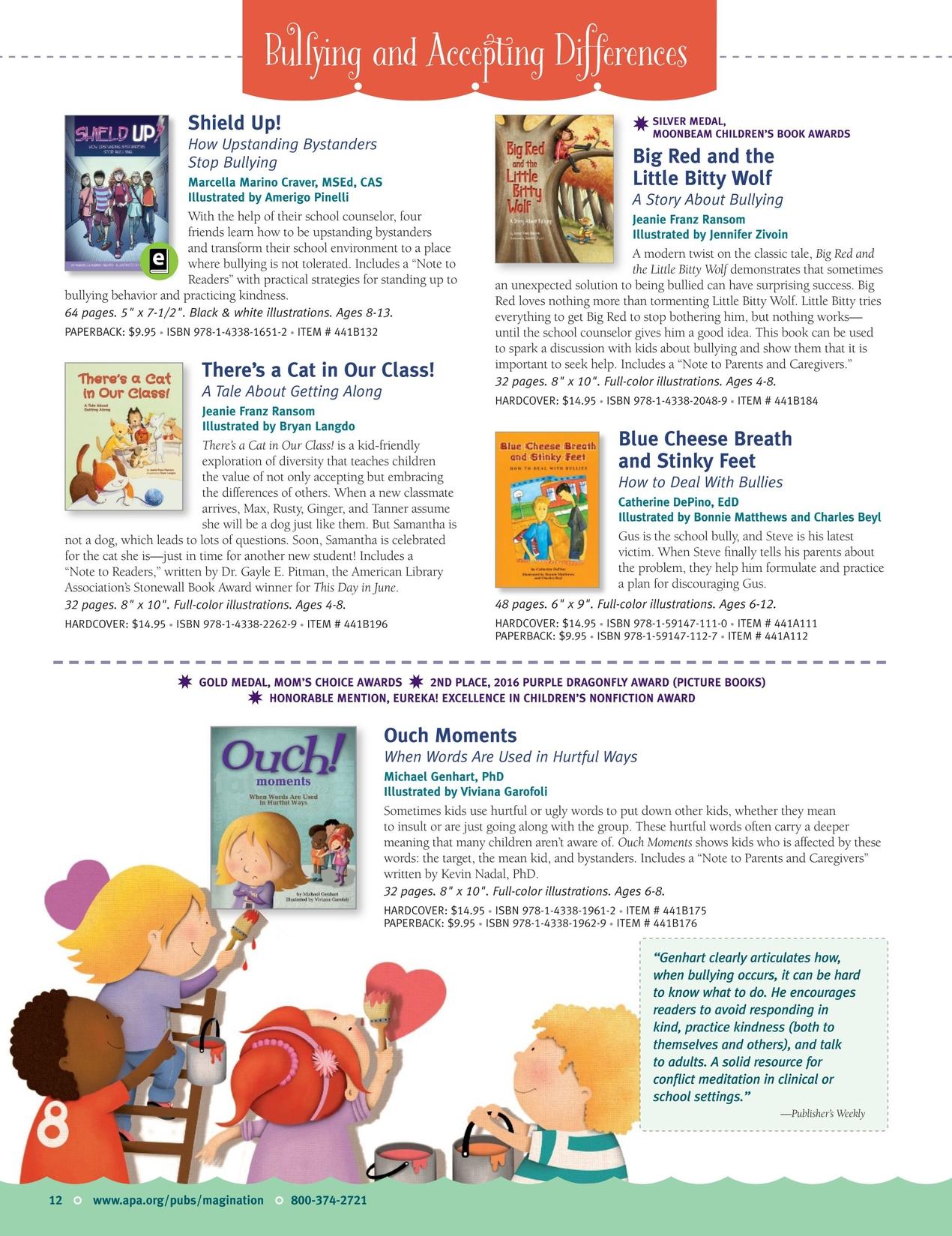 Magination Press Catalog 2017