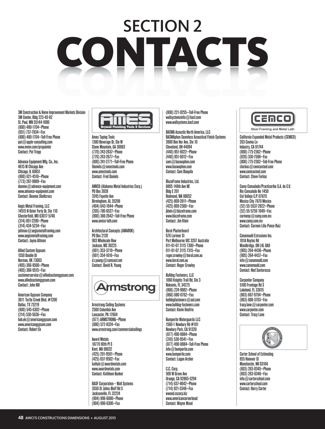 Member Products Catalog 2014