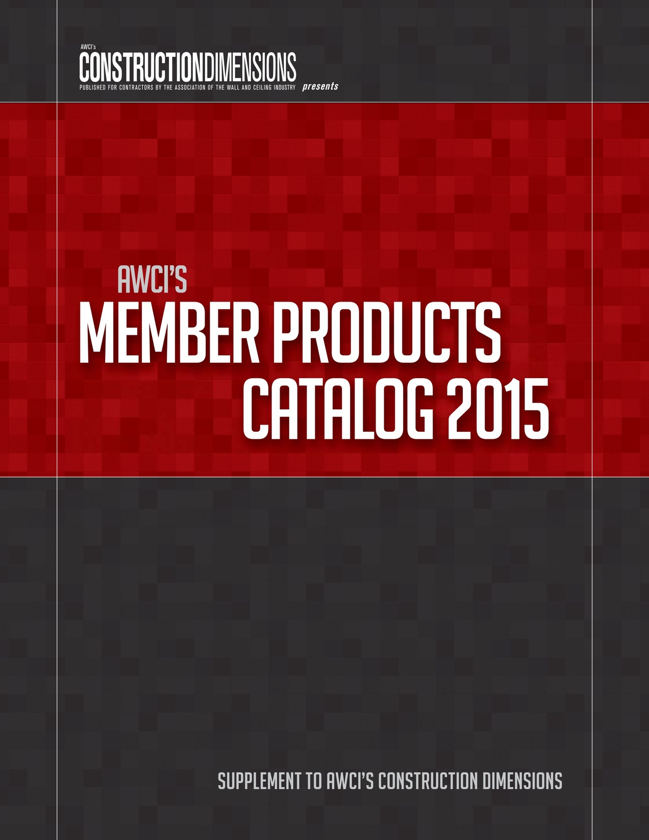 Member Products Catalog 2015