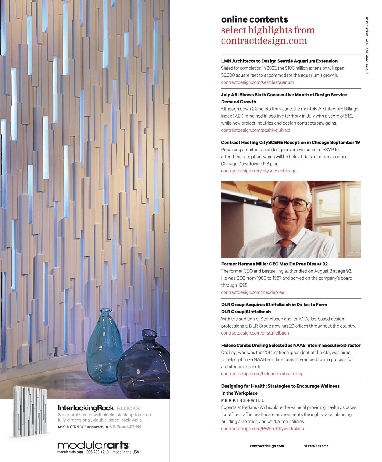 Contract Magazine - September 2017