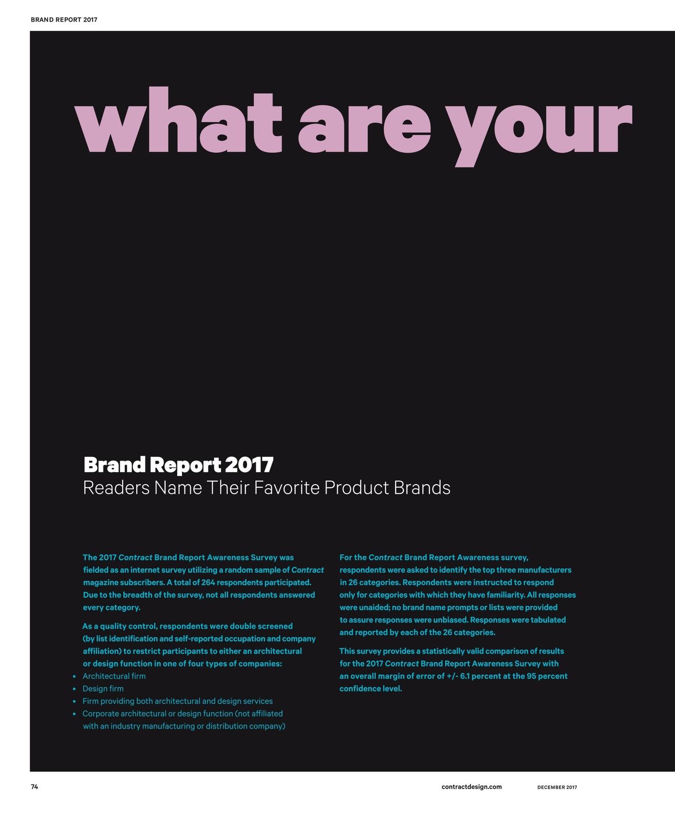 Contract Magazine - December 2017