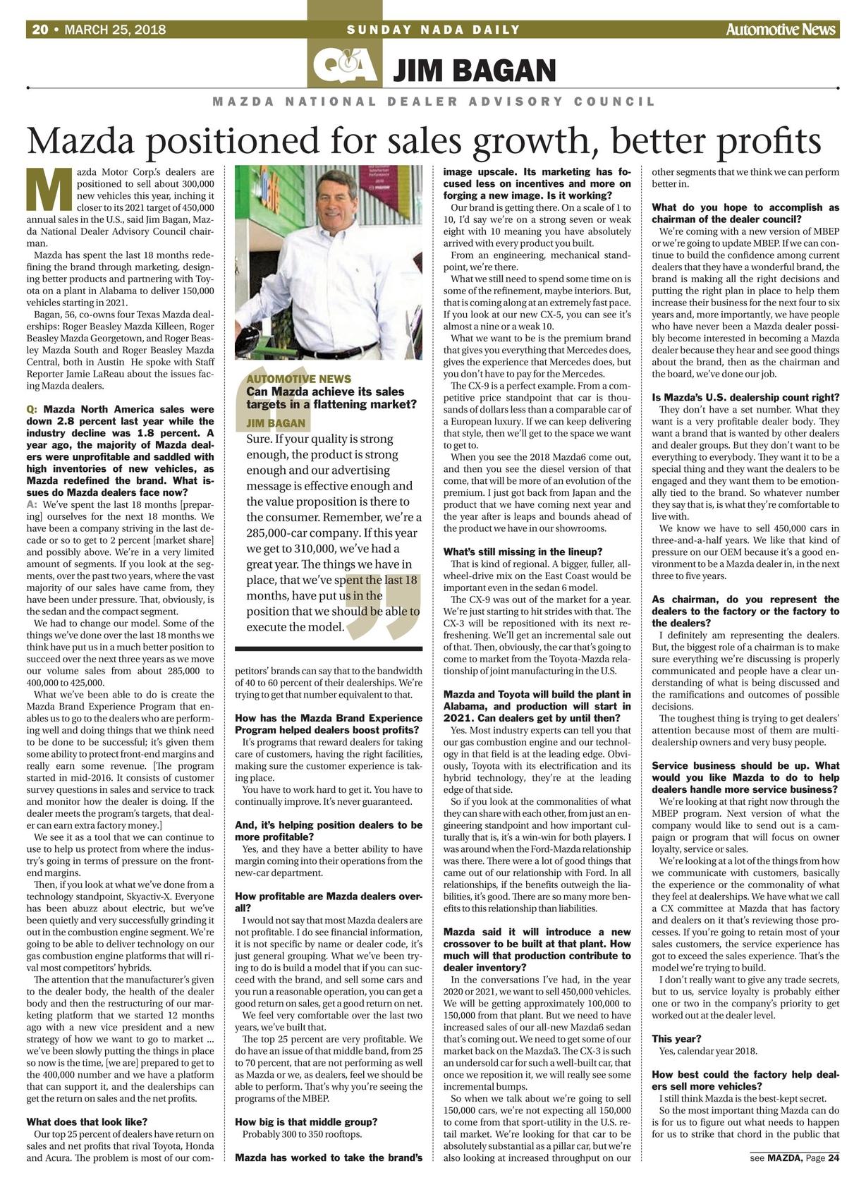 Automotive News NADA Show Daily 2018 Day 3 20 21