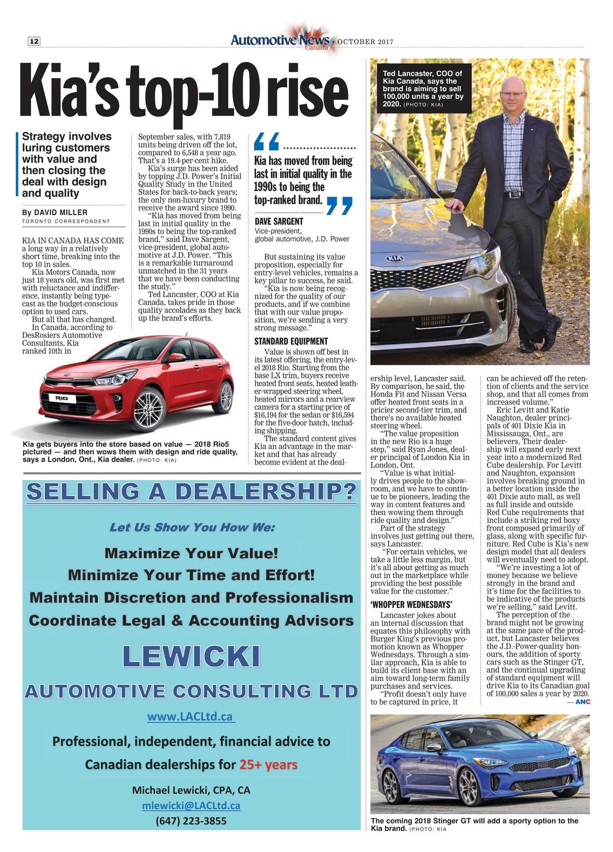 Automotive News Canada - October 2017