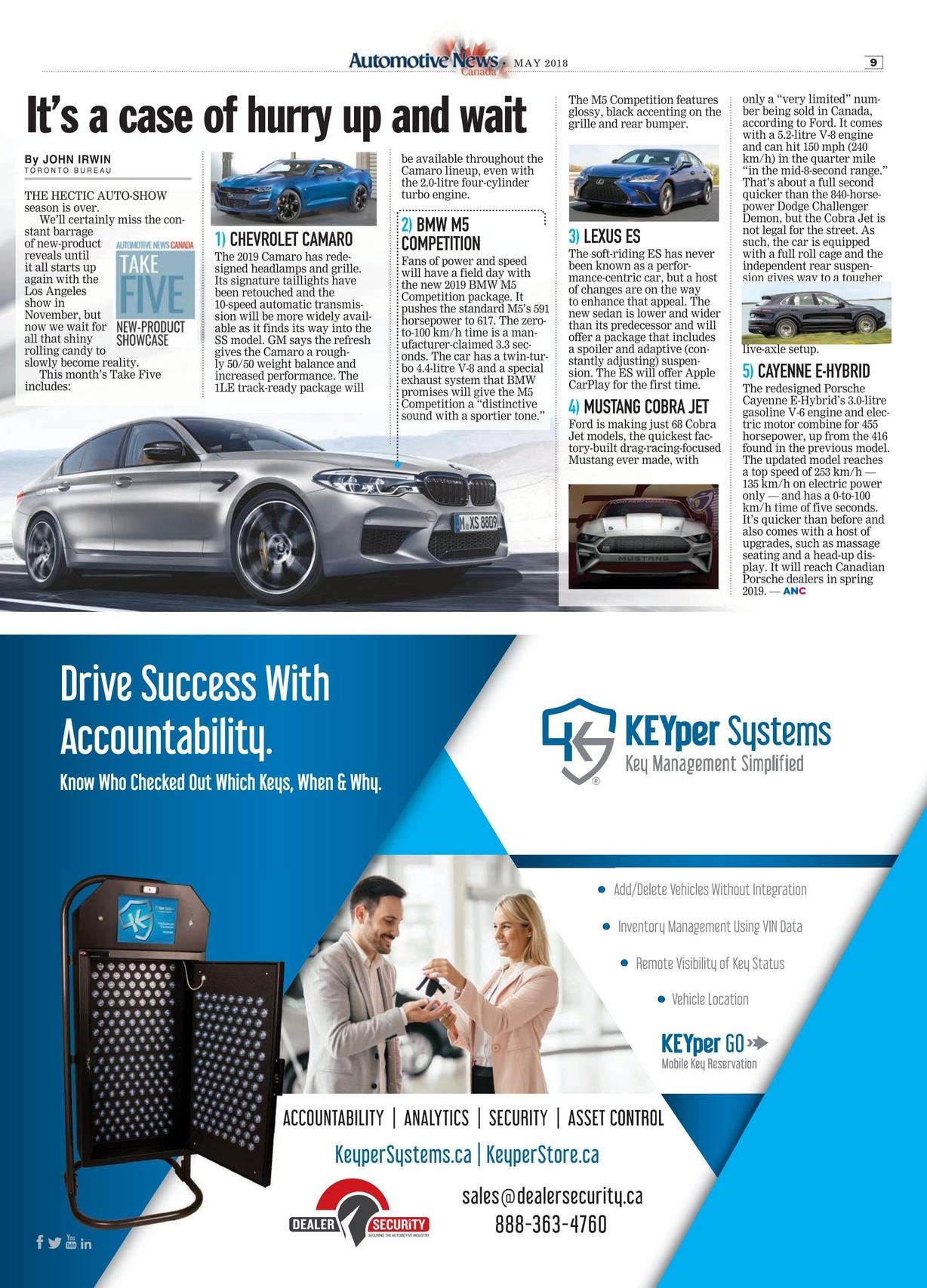 Automotive News Canada - May 2018 - v2