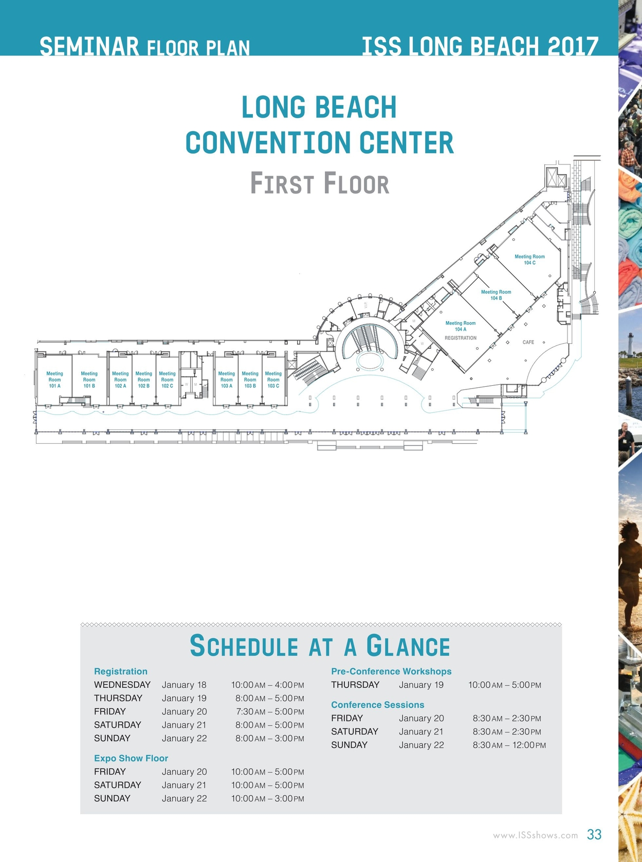 ISS Long Beach 2017 Show Directory