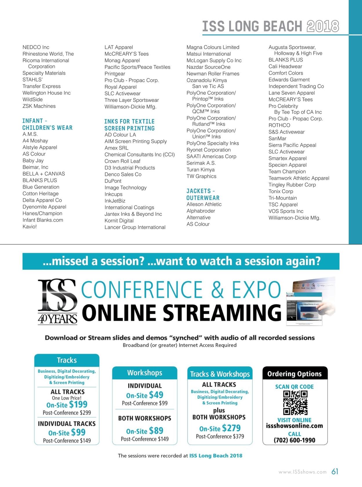 ISS Long Beach 2018 Show Directory 23852c38de0a