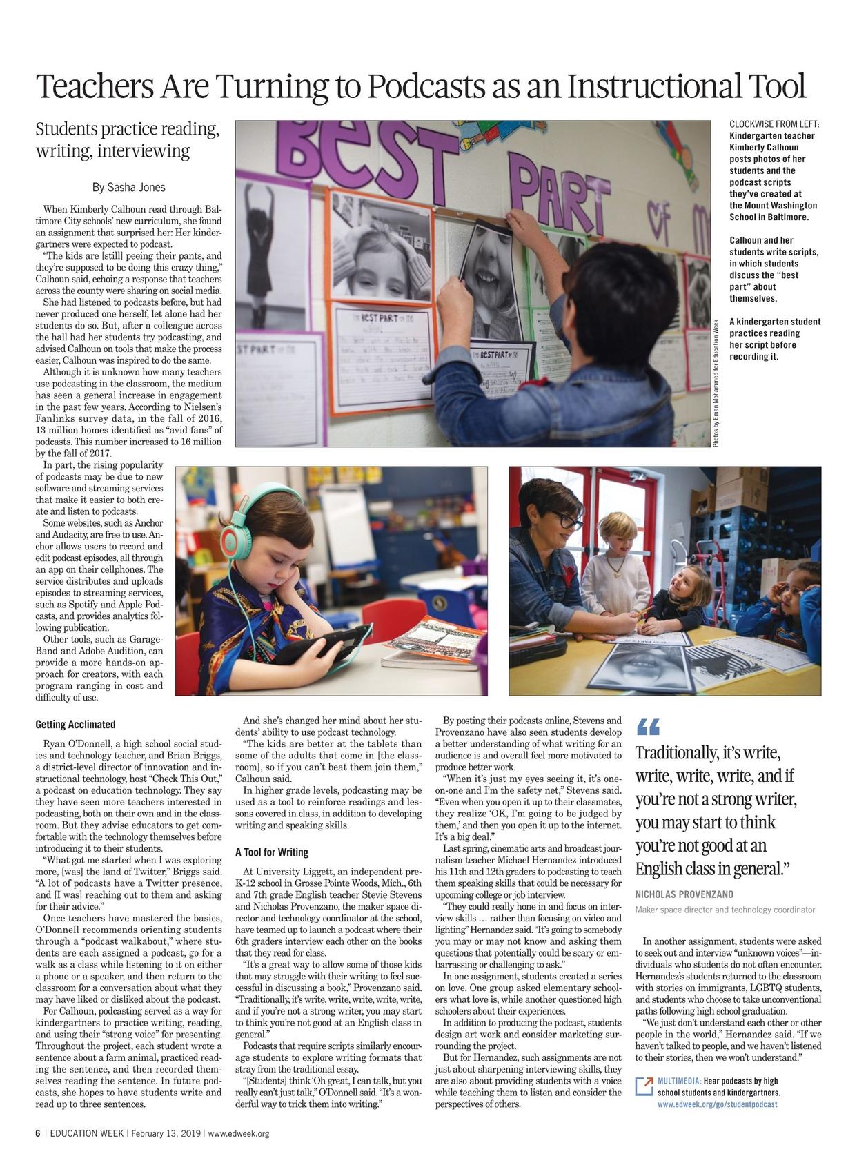 Education Week - February 13, 2019