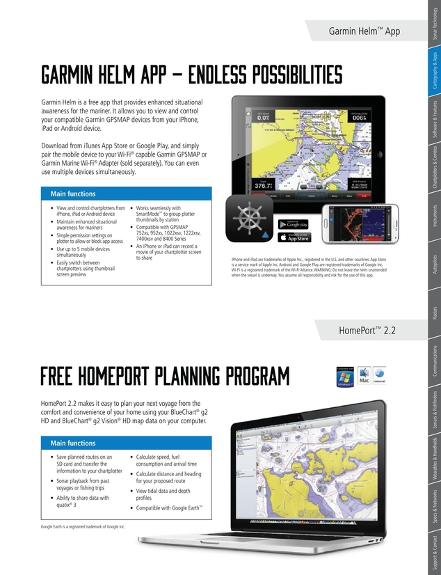 Garmin 2017 Marine Catalog NZ