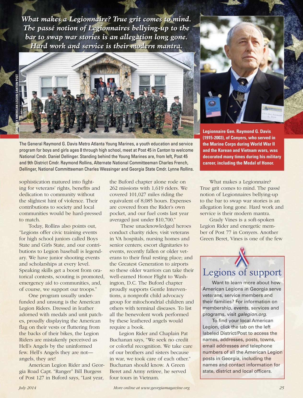 Georgia Magazine - July 2014